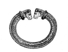 Celtic neck-ring.