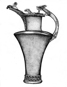 Gaulish wine vessel.