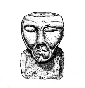 Maponos votive from Hadrians Wall.