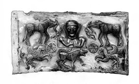 Panel from Gundestrup Cauldron.