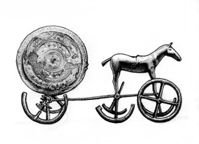 The Trundholm Sun Chariot, Denmark
