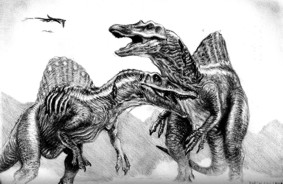 Spinosaurs.