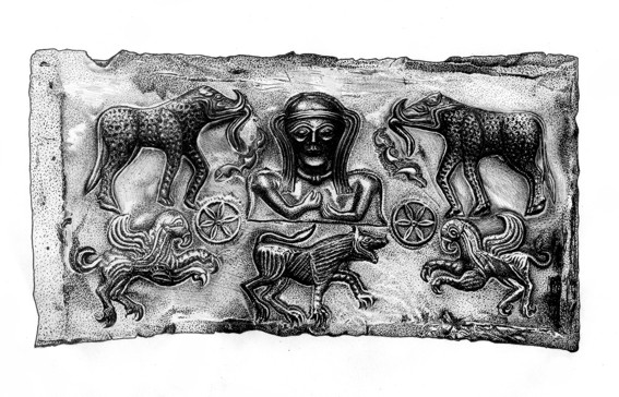 Panel from Gundestrup Cauldron