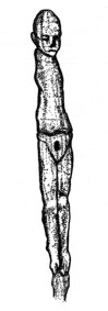Wooden Fertility Idol, Ireland